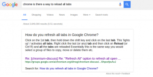 Chrome steps to reload all tabs